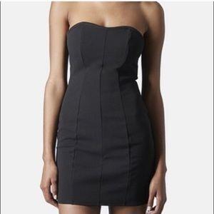 TopShop Strapless Bodycon Dress
